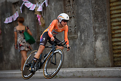 Megan Guarnier (Boels Dolmans) at Giro Rosa 2016 - Prologue. A 2 km individual time trial in Gaiarine, Italy on July 1st 2016.