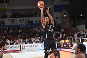 Joao Gomes<br /> Dolomiti Energia Trentino - Virtus Segafredo Bologna<br /> Lega Basket Serie A 2017/2018<br /> Trento, 30/09/2017<br /> Foto M.Ceretti / Ciamillo - Castoria