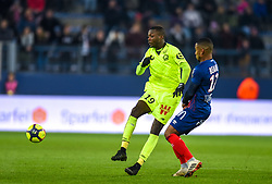 January 11, 2019 - Caen, France - Nicolas Pepe ( LOSC ) - Claudio Beauvue  (Credit Image: © Panoramic via ZUMA Press)