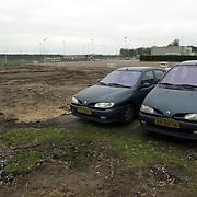 Parkeerterrein SV Huizen, plek discotheek