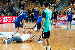 during handball event named Rokometna simfonija organised as a game between Zorman's team and Zvizej's team when Uros Zorman and Luka Zvizej officially retire from their professional handball career, on October 24, 2019 in Arena Zlatorog, Celje, Slovenia. Photo by Grega Valancic/ Sportida