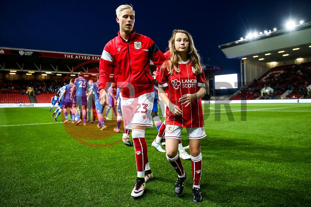 Mascots - Rogan/JMP - 19/09/2017 - Ashton Gate Stadium - Bristol, England - Bristol City v Stoke City - Carabao Cup Third Round.