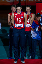20-10-2018 JPN: Ceremony World Championship Volleyball Women day 21, Yokohama<br /> MVP Tijana Boskovic #18 of Serbia