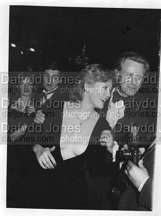 Annabell Heseltine and Michael Heseltine at the Conservative Ball 1983ONE TIME USE ONLY - DO NOT ARCHIVE  © Copyright Photograph by Dafydd Jones 66 Stockwell Park Rd. London SW9 0DA Tel 020 7733 0108 www.dafjones.com