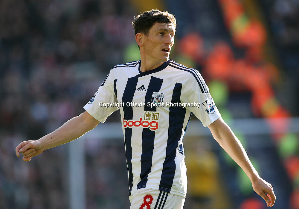 25/02/2012 - Barclays Premier League - West Bromwich Albion vs. Sunderland - Keith Andrews of West Brom - Photo: Simon Stacpoole / Offside.