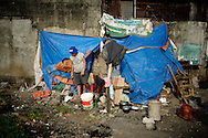 Philippines, Metro Manila. Shelter in Bicutan.