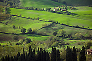Farmland around Montepulciano, Tuscany, Italy