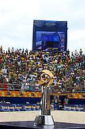 Footbal-FIFA Beach Soccer World Cup 2006 - Final- BRA xURU -Trophy FIFA Beach Soccer-Rio de Janeiro- Brazil - 12/11/2006.<br />Mandatory Credit: FIFA/Ricardo Ayres