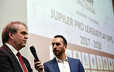 Calendar Presentation Jupiler Pro League - 12 March 2018