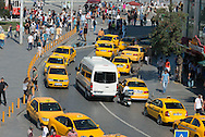 Turkey. Istanbul. istiklal avenue, main street of the modern city / Istamboul Avenue Istiklal