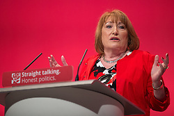 © Licensed to London News Pictures . 28/09/2015 . Brighton , UK . GLENIS WILLMOTT speaks at the 2015 Labour Party Conference . Photo credit : Joel Goodman/LNP