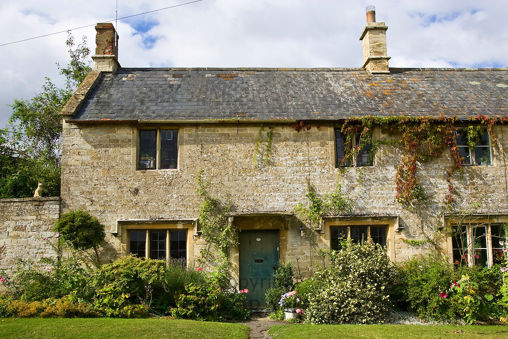 Country cottage in Windrush, The Cotswolds, Oxfordshire, United Kingdom