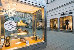Mientus store on famous Kurfurstendamm shopping street in Berlin, Germany.