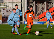 -  St.John's (orange) v Grove (light blue) in the Dundee United Cup (sponsored by Arab Trust) at Tannadice, Dundee<br /> <br /> <br />  - &copy; David Young - www.davidyoungphoto.co.uk - email: davidyoungphoto@gmail.com