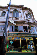 Image of historic Vesuvio Cafe and Bar at Columbus Avenue & Broadway, San Francisco, California, America west coast