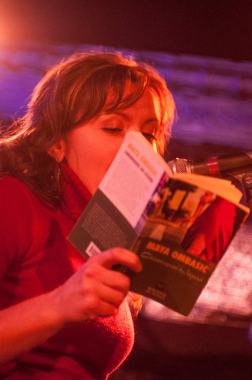 Shift de nuit, Animé par Michel Vézina. Poètes invités: Benoît Jutras, Maya Ombasic. Musiciens: Philippe Brault, Guido Del Fabbro, 1 février 2008