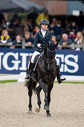 Osterholm Yvonne, FIN, Ironman H<br /> World Championship Young Dressage Horses - Ermelo 2019<br /> © Hippo Foto - Dirk Caremans<br /> Osterholm Yvonne, FIN, Ironman H