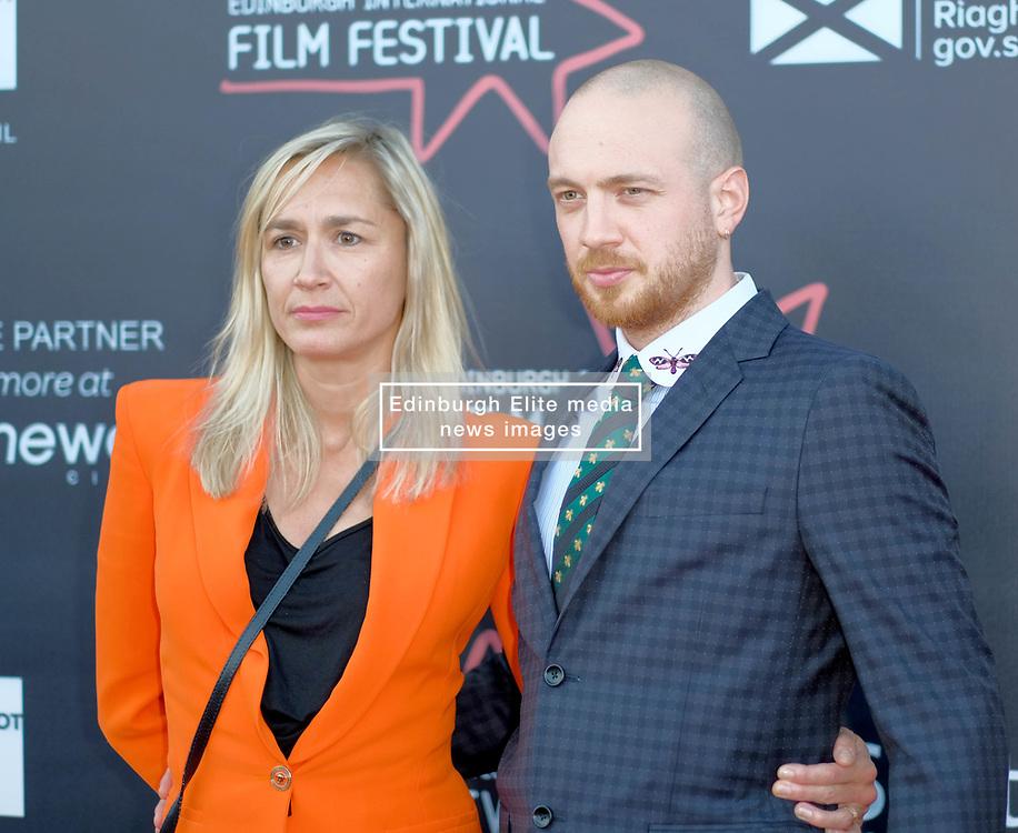 Edinburgh International Film Festival, Saturday, 23rd June 2018<br /> <br /> 'TWO FOR JOY' World Premiere<br /> <br /> Pictured:  Director Tom Beard and Producer Emma Comley<br /> <br /> (c) Alex Todd | Edinburgh Elite media