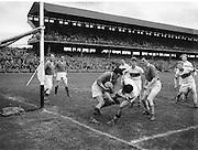 National Football League Final. Meath v Derry. Croke Park, Dublin. 1956.