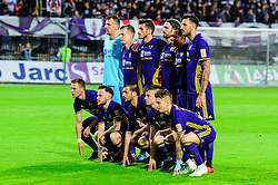 Team of NK Maribor prior football match between NK Maribor and NK Olimpija Ljubljana in 34th Round of Prva liga Telekom Slovenije 2017/18, on May 19, 2018 in Ljudski vrt, Maribor, Slovenia. Photo by Mario Horvat / Sportida