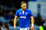 Portsmouth's Ben Davies during the The FA Cup match between Portsmouth and Accrington Stanley at Fratton Park, Portsmouth, England on 5 December 2015. Photo by Graham Hunt.