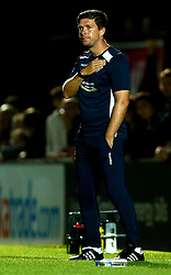 Bristol Rovers manager Darrell Clarke - Mandatory by-line: Robbie Stephenson/JMP - 29/08/2017 - FOOTBALL - Adam's Park - High Wycombe, England - Wycombe Wanderers v Bristol Rovers - Checkatrade Trophy