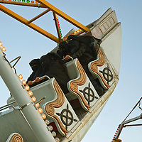Fun city, l'un des deux parc d'attraction de Sanaa, assidument frequentees par Ghada, Lemia, Yasmine and Alia...Fun city, one of the two amusement parks of Sanaa, where Ghada, Alia, Yasmine and Lemia like to go.