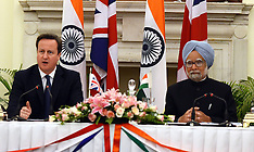 FEB 19 2013 David Cameron New Delhi