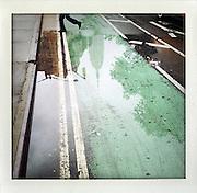 New York, Empire State Building..From the series Fake Polaroids.http://www.stefanfalke.com/#/personal/Fake%20Polaroids/1/.