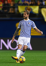 January 27, 2018 - Vila-Real, Castellon, Spain - Inigo Martinez of Real Sociedad during the La Liga match between Villarreal CF and Levante Union Deportiva, at Estadio de la Ceramica, on January 26, 2018 in Vila-real, Spain  (Credit Image: © Maria Jose Segovia/NurPhoto via ZUMA Press)