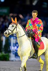 Hassmann Felix, GER, SL Brazonado<br /> Stuttgart - German Masters 2018<br /> © Hippo Foto - Stefan Lafrentz