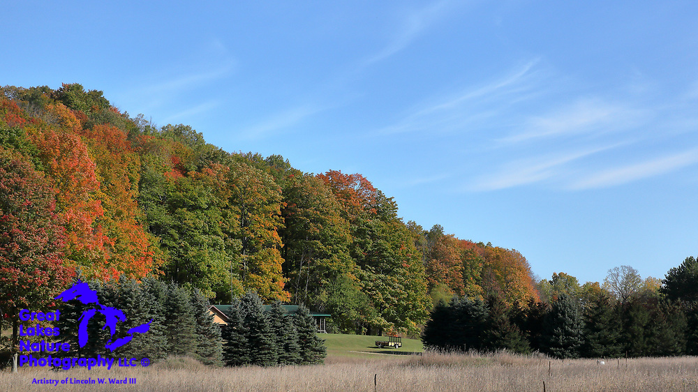 One of a series of images capturing Lower Michigan's Fall Colors in October 2017.