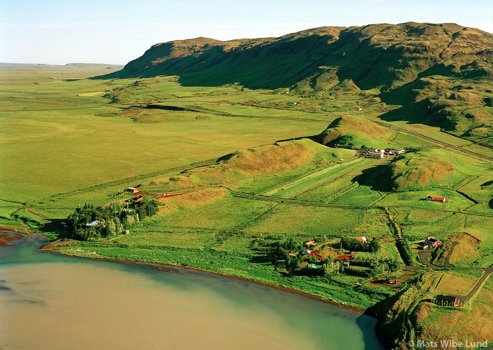 Iða séð til suðurs, Vörðufell, Bláskógabyggð áður Biskupstungnahreppur / Ida viewing south, mount Vordufell, Blaskogabyggd former Biskupstungnahreppur.