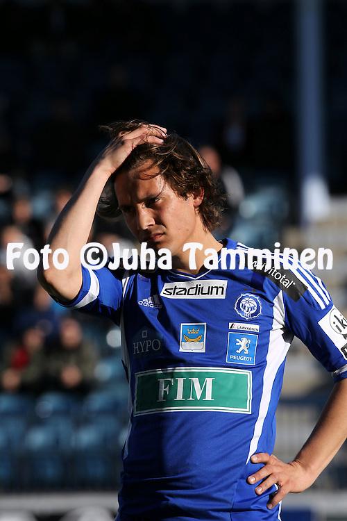 6.5.2011, Veritas stadion, Kupittaa, Turku..Veikkausliiga 2011, FC TPS Turku - FC HJK Helsinki..Sebastian Mannstr?m - HJK.©Juha Tamminen.