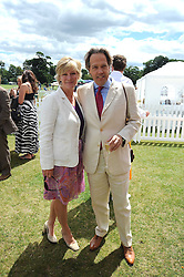The EARL & COUNTESS OF MARCH at the 2008 Veuve Clicquot Gold Cup polo final at Cowdray Park Polo Club, Midhurst, West Sussex on 20th July 2008.<br /> <br /> NON EXCLUSIVE - WORLD RIGHTS