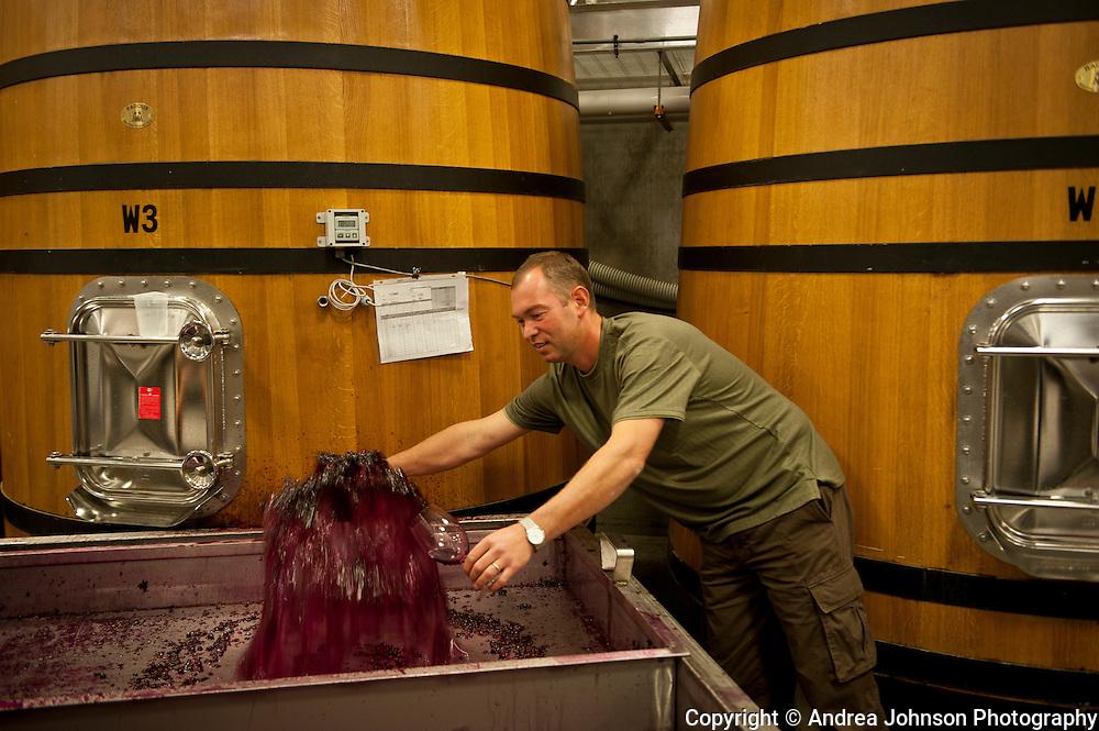 Winemaker Gilles Nicault, Long Shadows Vintners, Walla Walla, Washington