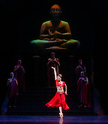 La Bayadere <br /> A ballet in three acts <br /> Choreography by Natalia Makarova <br /> After Marius Petipa <br /> The Royal Ballet <br /> At The Royal Opera House, Covent Garden, London, Great Britain <br /> General Rehearsal <br /> 30th October 2018 <br /> <br /> STRICT EMBARGO ON PICTURES UNTIL 2230HRS ON THURSDAY 1ST NOVEMBER 2018 <br /> <br /> <br /> <br /> <br /> <br /> Natalia Osipova as Gamzatti <br /> <br /> <br /> Photograph by Elliott Franks Royal Ballet's Live Cinema Season - La Bayadere is being screened in cinemas around the world on Tuesday 13th November 2018 <br />