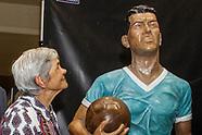 Estatua en homenaje a Obdulio Varela