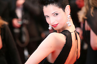 Hanaa Ben Abdesslem at the Cosmopolis gala screening at the 65th Cannes Film Festival France. Cosmopolis is directed by David Cronenberg and based on the book by writer Don Dellilo.  Friday 25th May 2012 in Cannes Film Festival, France.