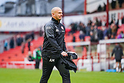 Adam Murray of Barnsley (Caretaker Manager) after full-time during the EFL Sky Bet Championship match between Barnsley and Swansea City at Oakwell, Barnsley, England on 19 October 2019.
