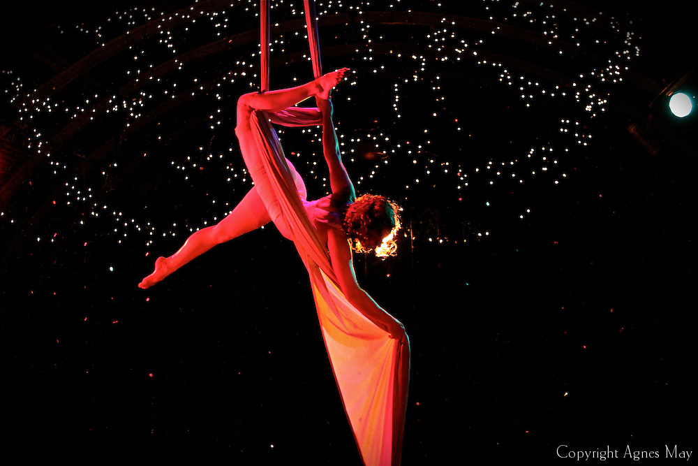 Aerial still photography taken during a video shoot at Mission in Culver City, CA. Aerialist featured: Kiya Light. Video: Marty Taylor. Photography: Agnes May. The video may be viewed here: http://vimeo.com/49817468