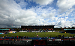 A general view of Allianz Park, home of Saracens - Mandatory by-line: Robbie Stephenson/JMP - 08/10/2017 - RUGBY - Allianz Park - London, England - Saracens v Wasps - Aviva Premiership