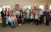 Laconia High School's Class of 1943 as the Laconia Country Club Thursday afternoon.  (Karen Bobotas/for the Laconia Daily Sun)