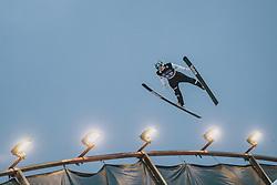 29.02.2020, Salpausselkae Hill, Lahti, FIN, FIS Weltcup Ski Sprung, Herren, Teamspringen, im Bild Anze Lanisek (SLO) // Anze Lanisek of Slovenia during the men's team event of FIS Ski Jumping World Cup at the Salpausselkae Hill in Lahti, Finland on 2020/02/29. EXPA Pictures © 2020, PhotoCredit: EXPA/ JFK