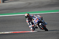 August 10, 2018 - Spielberg, Austria - 21 Italian driver Fabio Di Giannantonio of Team Del Conca Gresini race during free practice of Austrian MotoGP grand prix in Red Bull Ring in Spielberg, Austria, on August 10, 2018. (Credit Image: © Andrea Diodato/NurPhoto via ZUMA Press)