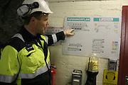 Nea hydroelectric plant, Tydal in Norway. Nea kraftverk er størst av de åtte kraftverkene i Tydal.