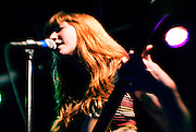 Brooklyn garage punkers Vivian Girls opening up for The Black Lips. The Firebird, Saint Louis, Missouri. April 21st, 2011.