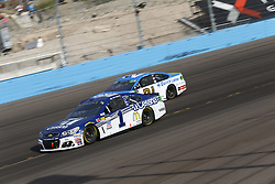 November 12, 2017 - Avondale, Arizona, United States of America - November 12, 2017 - Avondale, Arizona, USA: Jamie McMurray (1) battles for position during the Can-Am 500(k) at Phoenix Raceway in Avondale, Arizona. (Credit Image: © Justin R. Noe Asp Inc/ASP via ZUMA Wire)