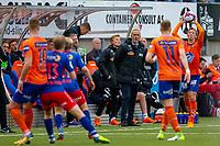 1. divisjon fotball 2018: Aalesund - Tromsdalen. Aalesunds trener Lars Bohinen i førstedivisjonskampen i fotball mellom Aalesund og Tromsdalen på Color Line Stadion.