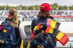 Supporter Team Bel - Individual Test Grade IV Para Dressage - Alltech FEI World Equestrian Games™ 2014 - Normandy, France.<br /> © Hippo Foto Team - Jon Stroud <br /> 25/06/14